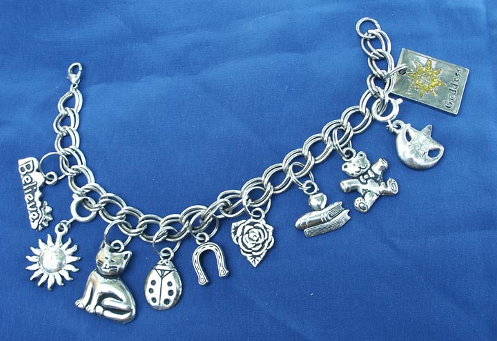 Charm Bracelets Are Worn By Many People Including Those Who Do Not Practice Any Form Of Magic Interestingly Some Rather Old Symbols Continue To Be